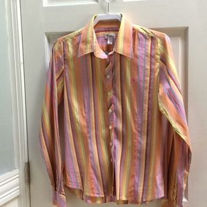Lilly Pulitzer striped blouse